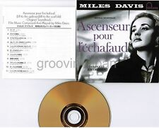 MILES DAVIS Ascenseur Pour L'Échafaud JAPAN Mini-LP 24k GOLD CD UCCU9512 INSERT