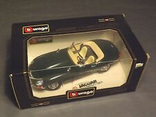 BBURAGO DIAMOND SERIES JAGULAR E CABRIOLET 1961 DIE CAST 1:18 MODEL