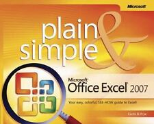 Microsoft  Office Excel  2007 Plain & Simple (Plain & Simple Series)