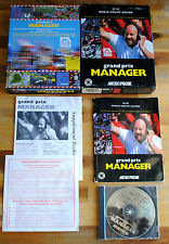 Jeu WORLD CIRCUIT RACING : GRAND PRIX MANAGER (BIG BOX version) pour PC / IBM
