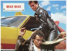 MEL GIBSON TIM BURNS GEORGE MILLER  MAD MAX 1979 VINTAGE LOBBY CARD ORIGINAL #1
