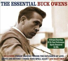 The Essential by Buck Owens (CD, Dec-2011, 2 Discs, Not Now Music)