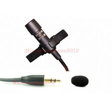 Lapel Unidirectional Condenser mic JPA Lavalier Mic For Audio2000'S PA Systems