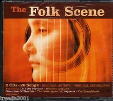 FOLK SCENE 2CD Box Classic 70s Rock GLENN YARBROUGH NILSSON YOUNGBLOODS New