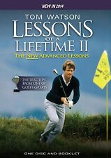 Tom Watson: More Golf Lessons of a Lifetime The New Advanced Lessons [DVD] NEU