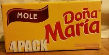 4 Pack Mole Sauce Dona Maria 8 Servings 8.25oz Mexican Food, Great value price