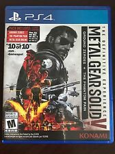 Metal Gear Solid V 5: Definitive Edition Mgs 5 V (Playstation 4, 2016) FAST SHIP