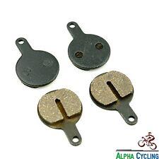 MTB Disc Brake Pads for Tektro Lyra Novela Iox Bike Disc Brake, 2 Pairs, Resin