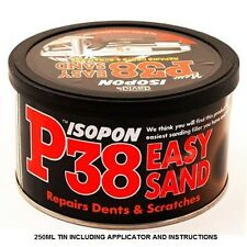 U POL DAVIDS  ISOPON P38 SUPER EASY SANDING LIGHTWEIGHT CAR  BODY FILLER  250ml