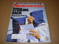 Newsweek Magazine July 8 1985 Terror-Proof Airport, The Emerald Forest Wallyball