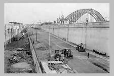 SYDNEY Harbour Bridge approach construction 19 May 1931 modern digital Postcard