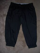Womens NIKE ATHLETIC DEPT. Black Athletic Style Capri Pants Size Small