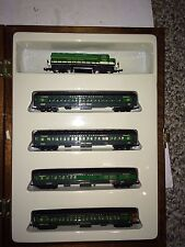 Vintage 70s N Scale Model Power Southern President Train Set,Cars,Engines,Locos