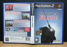 SHOGUN'S BLADE - PS2 - PlayStation 2 - PAL - Italiano - Usato