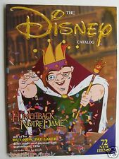 The Disney Catalog Fall 1996 Hunchback Of Norte Dame Cover