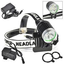 Boruit  6400mAh 7000lm 3*XML T6 LED Phare vélos lumière Frontale lampe+chargeur