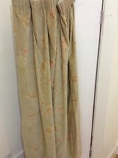 FLOWER VELVET VINTAGE CURTAIN