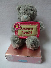 Me To You Tatty Teddy Bear Someone Special Gray Plush Stuffed Animal Gift Floral