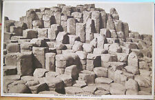 Irish Postcard LADIES WISHING CHAIR Giants Causeway Northern Ireland Tuck & Sons