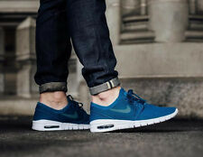 NIKE STEFAN JANOSKI MAX Trainers SB Air - UK Size 11 (EUR 46) - Blue Green Abyss