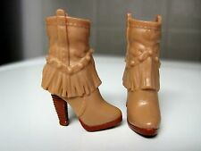 BARBIE DOLL CLOTHES/SHOES *MATTEL HIGH HEEL BOOTS   *NEW*  #606