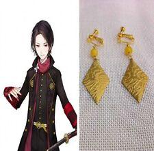 Earrings The Sword Dance Anime Japan Kashuu Kiyomitsu Ear Clip Collection Gift