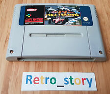 Super Nintendo SNES F1 Pole Position PAL - UKV