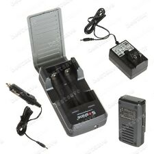 Pro Smart Soshine SC-S2 Car/Wall Battery Charger For 18650 17650 Li-ion B0451