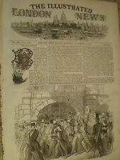 Political demonstration Berne Switzerland 1847 old print my ref S