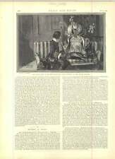 1891 Miss Ellen Terry come Nance OLDFIELD disegnato da FH Townsend