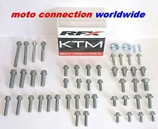 RFX BOLTS & FASTENERS OEM TYPE BOLT TRACK PACK FOR KTM EXC 125 200 250 300  2007