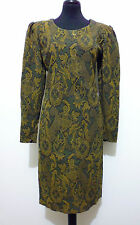 UNGARO PARIS Abito Vestito Donna Acetate Silk Woman Dress Sz.S - 42