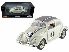 1:18 HOT WHEELS Disney VW Käfer #53 Herbie the Love Bug 1962