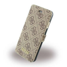 Genuine Guess 4G Uptown Book Cover Phone Wallet Case For Apple iPhone 7