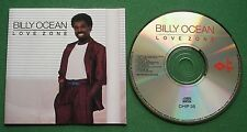 Billy Ocean Love Zone inc Promise Me & Love Is Forever + No Barcode CD
