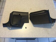 1984 Nissan 300zx Driver Passenger Interior Trim Kick Panels Black