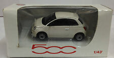 Norev 1:43 Scale Fiat 500 Die Cast Model Car White