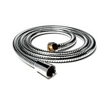 New 1.5M Flexible Shower Water Hose Pipe Stainless Steel Chrome Free Shipping