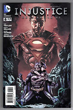 INJUSTICE: GODS AMOUNG US #6 - MICO SUAYAN COVER - 1st PRINTING - 2013