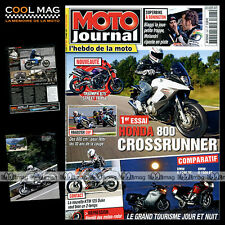 MOTO JOURNAL N°1947 YAMAHA XS 1100 HONDA CROSSRUNNER KTM 125 DUKE BMW K 1600 GT