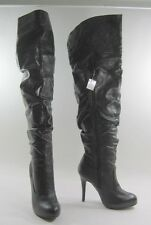 """New Blacks 4.5""""Stiletto high heel Women over the knee sexy boots  Size 5.5 p"""
