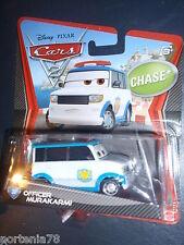 Disney Pixar Cars 2 Chase OFFICER MURAKARMI