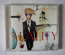 DAVID BOWIE - REALITY 2003 CD ALBUM - VERY GOOD CONDITION