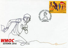 Estonia 2016 FDC Veterans World Masters Orienteering Champions 1v Cover Stamps