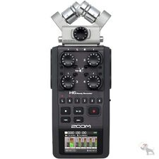 Zoom H6 Portable Handheld Vocal Instrument Music Recorder USB Audio Interface B