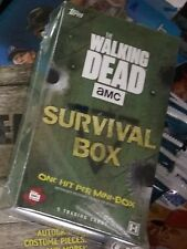 THE WALKING DEAD SURVIVAL HOBBY PACK TRADING CARDS FACTORY SEALED NEW