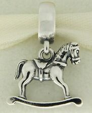 Authentic Pandora 791413 Rocking Horse Sterling Silver Bead Charm