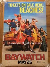 Baywatch DS Theatrical Movie Poster 27x40