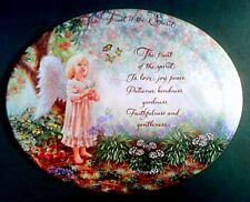 """Angelic Inspirations' """"Show Me Your Way Lord"""" 2002 Plate from Bradford Exchange"""