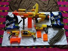Lot NERF STAMPEDE ECS AUTOMATIC BLASTER GUN ** Look 4 MORE TOY & HOT ITEMS ...